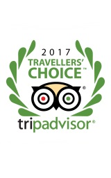 2017 Travellers Choice Trip Advisor Award Winner