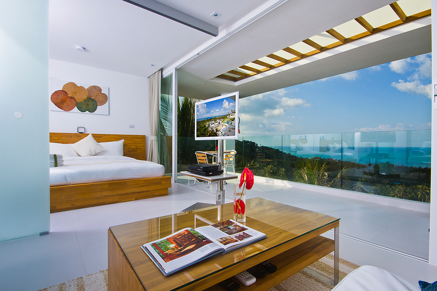 Two bedroom ocean view penthouse suite